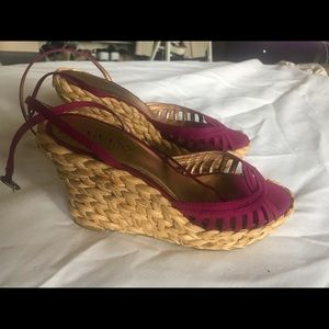 GUESS by MARCIANO , raffia high platform sole , 7M